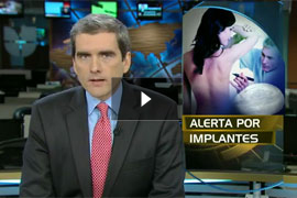 Watch Video: Noticiero Univisión – El Dr.Yager