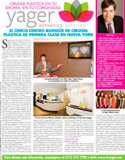 REVISTAS Y PUBLICACIONES: Dr. Yager speaks about Latinas and Plastic Surgery