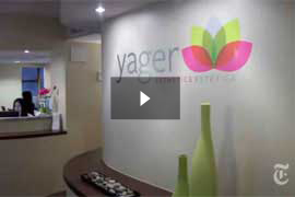 Watch Video: The New York Times features Dr.Yager