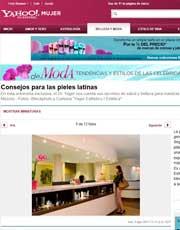 Magazines & Publications: Yahoo! En Español.com - Consejos para las pieles latinas del Dr. Yager