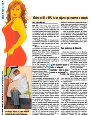 MAGAZINES & PUBLICATIONS: 'Déjame como la Chacón' (o JLo)