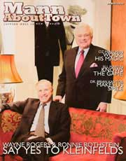 Magazines & Publications: Mann About Town - Dr. Yager speaks about his achievements and beliefs