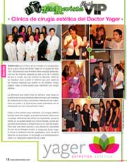 Magazines & Publications: TeleRevista - Celebrando la nueva oficina de Yager Esthetics | Estética™