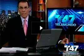 Television Appearances: Video - Noticias Telemundo 47 - El Dr. Yager habla sobre los peligros de las inyecciones en lugares clandestinos.