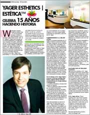 Magazines & Publications: El Especialito – Yager Esthetics|Estética™ celebra 15 años
