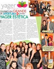 Magazines & Publications: El Especialito - Celebrating the new Yager Esthetics | Estética™ Office